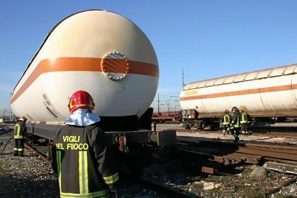 trasporto ferroviario merci pericolose