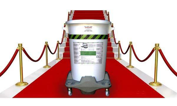 assorbente certificato per acido solforico