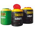 Contenitori in plastica per lo stoccaggio di olio esausto