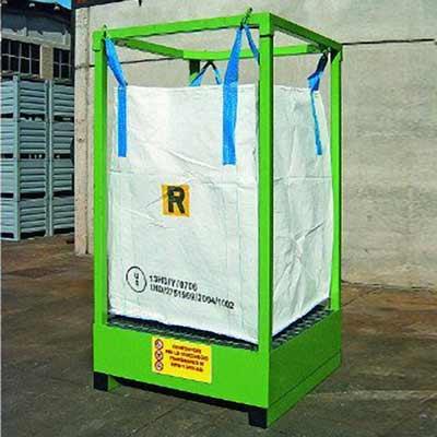big bag porta big bag vasca verde
