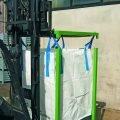 Struttura porta big bag con vasca di raccolta