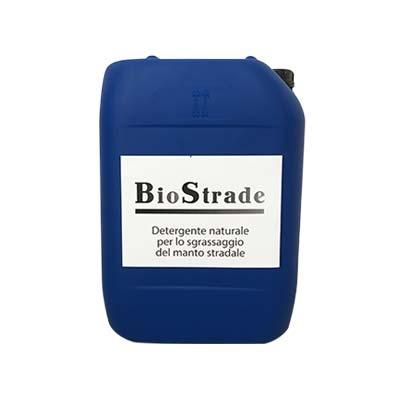bio detergente per pulizia asfalto