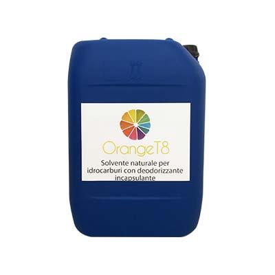 solvente naturale per idrocarburi con deodorizzante