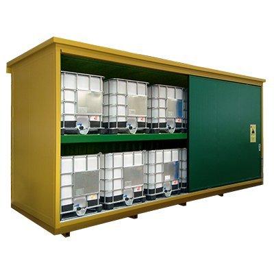 container per stoccaggio cisternette