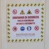 container stoccaggio etichettatura di sicurezza