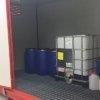 Vasca di contenimento container