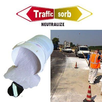 Assorbente neutralizzante per sedi stradali