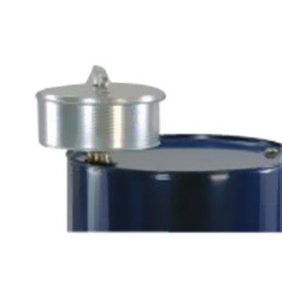 imbuto in acciaio zincato per fusti e cisternette