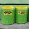 serbatoio in polietilene per stoccaggio oli vegetali esausti