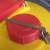 tappo con lucchetto per serbatoio in polietilene per olio esausto