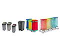 Contenitori in plastica per la raccolta differenziata