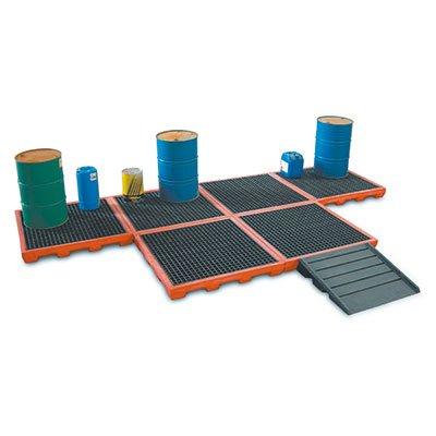 piattaforme di stoccaggio in polietilene