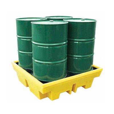 vasche di contenimento in polietilene per fusti