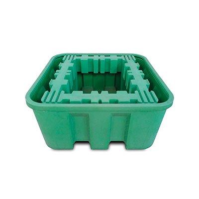 supporto di rinforzo per vasca di contenimento polietilene