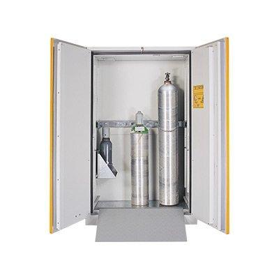 armadio deposito per stoccaggio bombole
