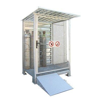 deposito bombole gas per esterni