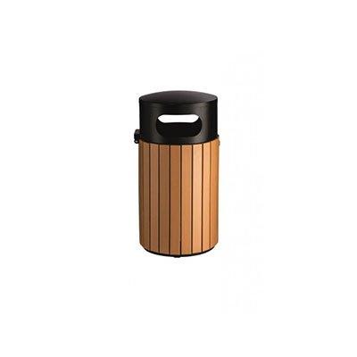 contenitore acciaio con rivestimento in polistirene marrone flora 40