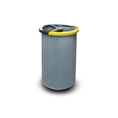 cestino per rifiuti a 3 scomparti