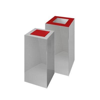 contenitori in acciaio inox per raccolta differenziata