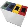 Contenitore in acciaio inox con coperchio colorato 2