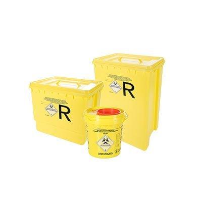 contenitore in polietilene per rifiuti ospedalieri