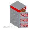 leocover1F Copertura per contenitori carrellati