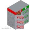 leocover2F Copertura per contenitori carrellati