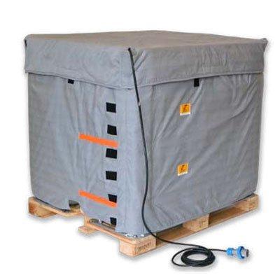 Copertura riscaldante per cisternette ATEX