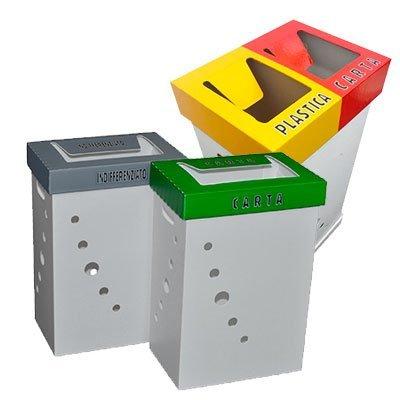 contenitori per raccolta differenziata