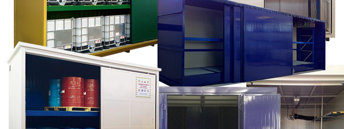 noleggio operativo container di stoccaggio