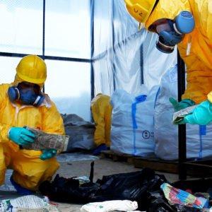 Organizzazione della logistica del rifiuto e materia prima pericolosa