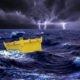 Contenitore di sicurezza per trasporto marittimo