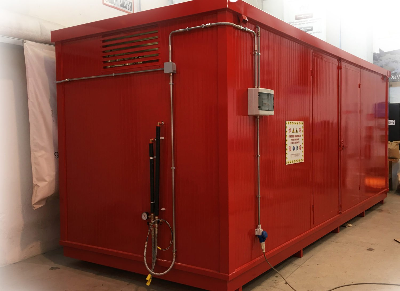 container stoccaggio materie pericolose atex 4