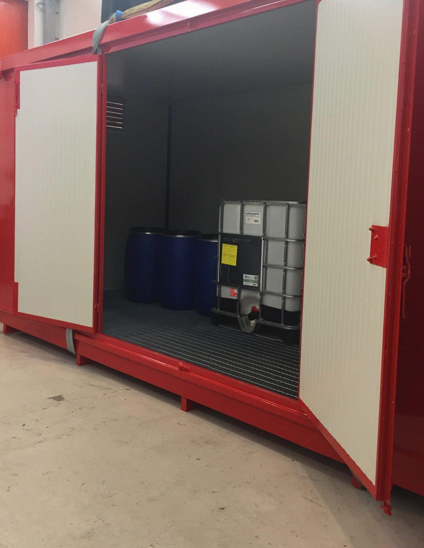container stoccaggio materie pericolose atex 5