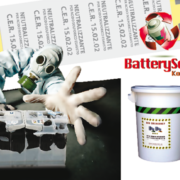 battery sorb kompact neutralizzante per acido batterie