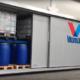 Container porta scorrevole automatica