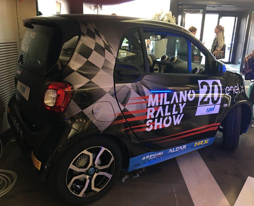 presentazione milano rally show 2018 foto 1