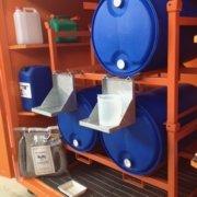 container allestimenti per il travaso e la mescita