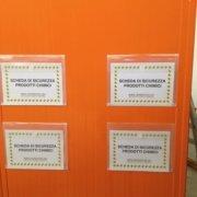 allestimento documentale container interno