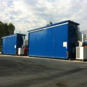 container 4 piani e.i.120 con impianto di climatizzazione atex e impianto antincendio automatico a gas