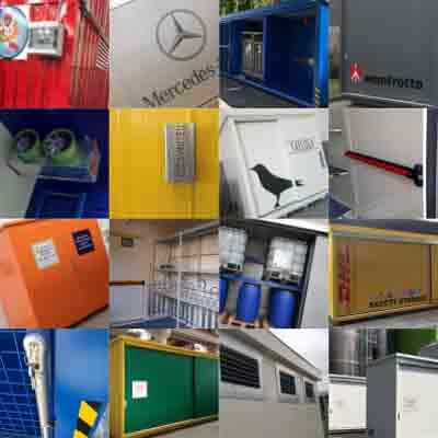 container con allestimenti speciali