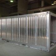 container marittimo in acciaio inox per trasporto navale di sostanze tossiche