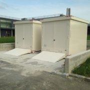 container rei 120 per lo stoccaggio in sicurezza di liquidi infiammabili e reagenti di laboratorio