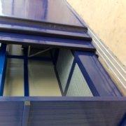 container smontabile per posizionamenti al piano