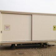 container su carrello d'uscita post verniciatura-1