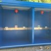 deposito stoccaggio gas infiammabili con pareti lati e tetto rei 120
