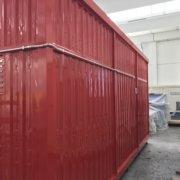 dettaglio impianto elettrico container