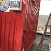 impianto elettrico esterno in acciaio inox