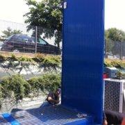 montaggio in loco container 6 m