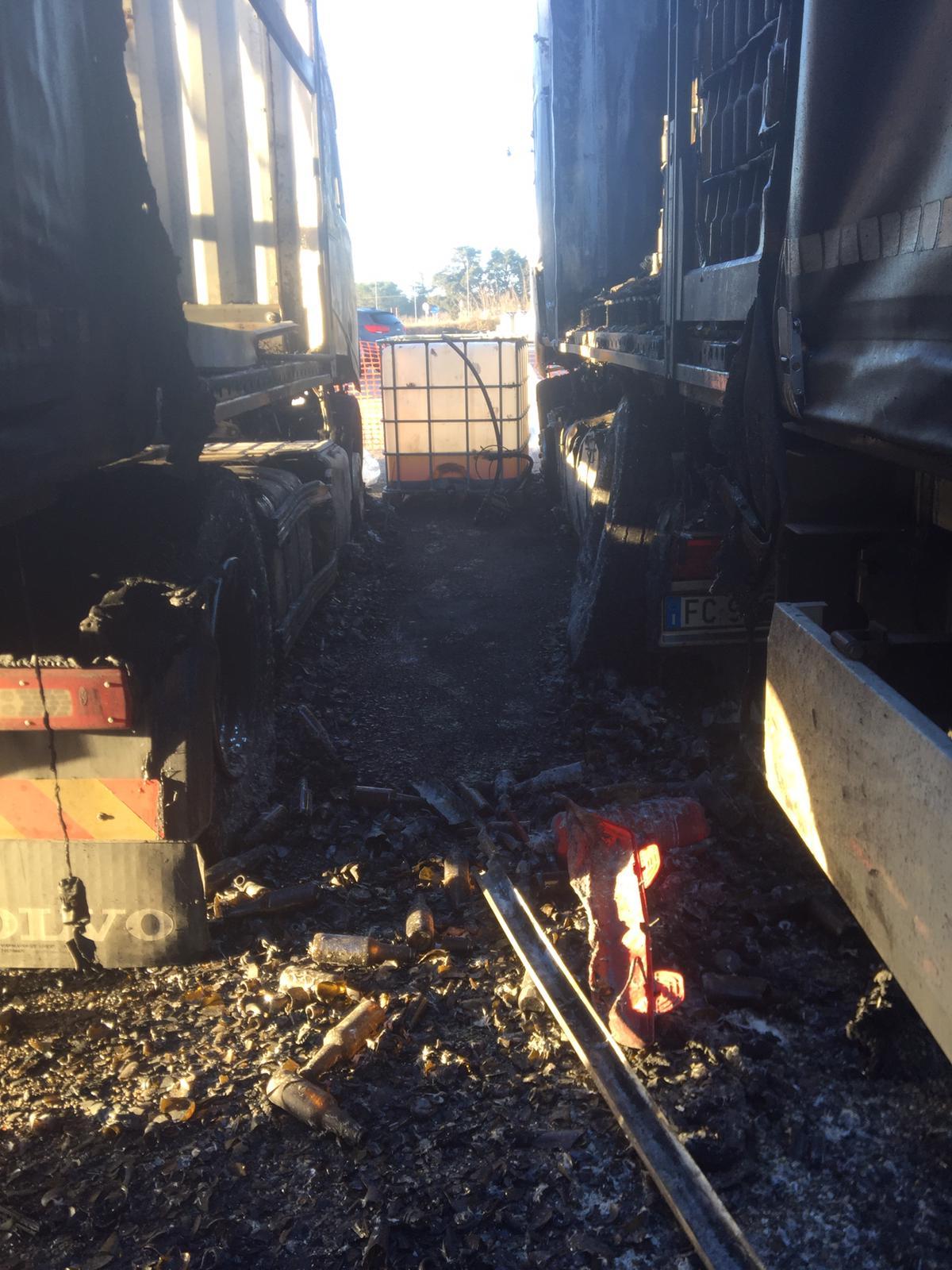 ripristino stradale dopo incidente camion 18